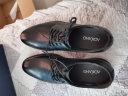 奧康男鞋 正裝皮鞋男男士商務正裝圓頭系帶低幫鞋子 黑色 41 實拍圖