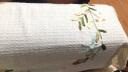 青葦 棉麻手繡 絲帶繡 田園風格多用蓋布 2條裝60*60cm 實拍圖