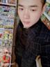 頓森帝 西服男新品休閑格子小西裝男裝修身上衣時尚單外套 黑色 L 實拍圖