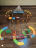 益米 兒童玩具男孩遙控車軌道車電動雙人競速軌道車汽車套裝電動版 3-6歲玩具 實拍圖