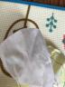 全棉時代棉柔巾 嬰兒棉柔巾擦臉巾洗臉巾一次性抽紙巾毛巾干濕兩用100抽/包 6包 實拍圖