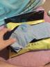 南極人10雙襪子男士襪子運動舒適透氣休閑商務男襪男士棉襪中筒襪 凈色款 實拍圖