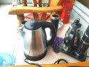 志高(CHIGO)電水壺燒水壺電熱水壺 304不銹鋼 1.8L容量ZD18A-708G8銀色 實拍圖
