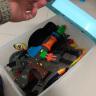 愛麗思IRIS 汽車載收納箱帶滑輪儲物箱CC2-1約50升 車載儲物箱大號收納箱后備箱整理箱 藍/白色 實拍圖
