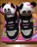 Skechers斯凱奇女童鞋 立體動物頭防滑靴子 魔術貼兒童雪地靴80689N/80689L 黑色/粉紅色/BKPK 26碼/鞋內長16cm 實拍圖