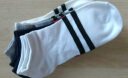 【5雙裝】襪子男士短襪夏季防臭低幫吸汗短筒運動襪潮四季兩條桿船襪 男士船襪5雙裝(顏色隨機) 實拍圖