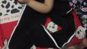 蒂嗒嗒(Di.dada)2019新款春夏季休閑百搭束腳運動褲女寬松韓版顯瘦學生褲子 Z09黑色 M(90-105斤) 實拍圖