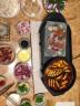 尚烤佳 電燒烤爐 多功能鴛鴦電火鍋 家用無煙電烤爐電烤盤 烤涮一體鍋LZW-1701A 大號 實拍圖