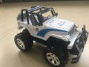 DZDIV 遙控車 越野車兒童玩具大型遙控汽車模型耐摔配電池可充電3030 警車款 實拍圖