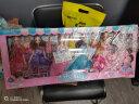 奧智嘉 夢幻依甜芭比娃娃超大禮盒夢幻3D真眼洋娃娃公主換裝娃娃套裝大禮盒 兒童玩具 女孩玩具禮物 實拍圖