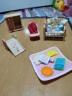 森貝兒家族兒童玩具女孩禮物過家家公主娃娃玩具屋配件寶寶臥室套5036 實拍圖