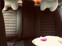 翰靜 2019新款汽車坐墊全包圍四季通用皮座墊專用小車免拆汽車座套 黑紅色 大眾捷達寶來速騰高爾夫桑塔納朗逸途觀帕薩特凌度邁騰 實拍圖