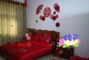 歐式刺繡婚慶純棉四件套大紅結婚棉繡花喜被套床單新婚床上用品 一諾傾情-紅 1.5m(5英尺)1.5*2.0床 實拍圖