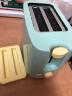 東菱(Donlim)面包機多士爐不銹鋼內膽烤面包機2片烤吐司機多功能三明治早餐機 TA-8600 實拍圖