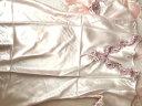 南極人(Nanjiren)睡裙 女仿絲公主甜美短袖睡衣女士韓版薄款家居服性感睡衣N676X20042-8 香檳色L 實拍圖