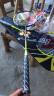 川崎(KAWASAKI)羽毛球拍超輕碳素對拍買一支送一支還贈四件套已穿線KD-2 實拍圖