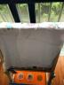 米樂魚兒童吸汗巾新生嬰兒棉紗布隔汗墊背巾周末動物園3條裝 實拍圖