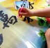 戀上 5D鉆石十字繡家和萬事興鉆石畫滿鉆圓鉆孔雀牡丹新款客廳十字繡鉆石繡 【鉆石畫5D版】非滿鉆-150x60厘米-細膩逼真 實拍圖