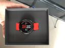 AMAZFIT智能運動手表華米科技出品 戶外GPS定位watch 運動心率陶瓷表圈 藍牙聽歌 快捷支付紅色 實拍圖
