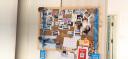 FOOJO無痕膠藍丁膠替釘膠相框照片墻專用56粒入150g大包裝 實拍圖