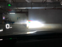 飛利浦(PHILIPS)星耀光 LED車燈 H11 汽車燈泡大燈近遠光燈 兩支裝 實拍圖