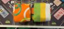 米字熊 兒童沙包 7cm立體沙袋 帆布丟沙包 幼兒園小學投擲游戲玩具 3個裝 實拍圖