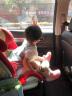 寶得適/百代適Britax汽車用兒童安全座椅isofix 9個月-12歲寶寶 百變騎士 II 熱情紅 實拍圖