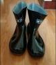 回力 雨鞋 男款中筒雨靴膠鞋防水鞋 HXL557 黑色男款 41 實拍圖