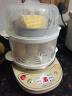 小熊(Bear)煮蛋器 家用早餐迷你機蒸蛋器自動斷電微電腦預約定時雙層可煮14個蛋 ZDQ-C14A1 實拍圖