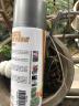好順 汽車用品輪轂自動手噴漆涂鴉家具金屬自行摩托車補漆筆防銹翻新劃痕修復油漆罐 125#銀灰色400ML 實拍圖