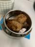 小熊(Bear)電熱飯盒 三層不銹鋼蒸煮可插電上班族熱飯器加熱飯盒智能預約定時保溫抽真空2升 DFH-A20D1 實拍圖