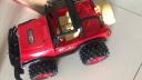 DZDIV 方向盤遙控車 越野車兒童玩具大型遙控汽車模型耐摔配電池可充電388-12紅色 實拍圖