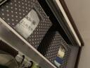 空間優品 收納箱55L 牛津布整理箱 收納盒鋼架箱 波點藍2只裝 實拍圖