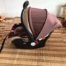 貝貝卡西 新生兒嬰兒安全提籃式安全座椅汽車用新生兒0-15個月寶寶 321咖色松果 實拍圖