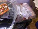 高樂士(GOLUXURY)30L電烤箱家用烘焙蛋糕多功能全自動迷你30升小型烤箱大容量三層上下獨立控 30L黑紅色+烘焙工具 實拍圖