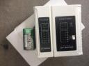 山澤(SAMZHE)網線測試儀 多功能測線儀電腦網絡水晶頭電話線工程 家用智能測試測通器 白色CS-40 實拍圖