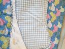 良良(liangliang) 嬰兒枕頭定型枕防偏頭新生兒水洗透氣兒童枕0-1-3-5歲用品幼兒禮盒 加長盒裝 藍色 實拍圖