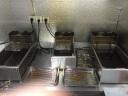 三鼎 電炸爐商用油炸鍋油炸機油條雞柳薯條油炸爐家用電炸鍋油炸小吃設備 【10.8L】單缸單篩定時炸爐 實拍圖