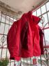 駱駝CAMEL 戶外沖鋒衣 男女士情侶款防風透氣保暖三合一沖鋒衣 A4W117009 珊瑚紅女款 L 實拍圖