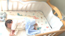 威爾貝魯 (WELLBER)嬰兒床床圍 寶寶四季床品嬰幼兒三明治網眼透氣彈性防撞 實拍圖