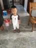 纖絲鳥(TINSINO) 嬰兒衣服兒童內衣男女童純棉套裝上衣褲子寶寶秋衣秋褲 叉叉熊-碳灰 90 實拍圖
