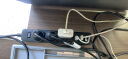 小米 3USB接口+3孔位 2A快充 插線板/插排/插座 黑色 實拍圖
