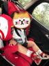 SAVILE貓頭鷹 寶寶汽車兒童安全座椅9個月-12歲isofix/latch超級哈利V503C 火焰杯 實拍圖