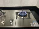 蘇泊爾(SUPOR) QS505燃氣灶具 煤氣灶天然氣灶家用臺嵌兩用不銹鋼猛火  天然氣4.1KW 實拍圖