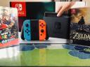 任天堂(Nintendo)Switch 游戲機/續航加強版 掌機 NS掌上游戲機便攜 ns精靈寶可夢 Switch普通版日彩+塞爾達+奧德賽 實拍圖