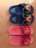 DISNEY  迪士尼兒童涼拖鞋  卡通男童女童舒適家居拖鞋 中童海藍190碼 5785 實拍圖