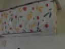 凈朵 碎花掛機空調罩家用全包空調套簡約臥室掛式空調罩子 防塵罩1-1.5P 碎花圖案-空調罩(大號) 實拍圖