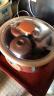 小熊(Bear)電燉鍋燉盅 煲湯鍋紫砂鍋 隔水燉盅燉湯養生煮粥鍋2.5L4膽  DDZ-A25Z1 實拍圖