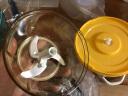 克歐克 廚房多功能切菜器 手動絞肉機絞菜機 家用手搖粉碎機器 碎菜料理器包餃子機 嬰兒輔食蒜泥搗蒜機 嫩黃 實拍圖