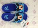 DISNEY  迪士尼兒童涼拖鞋 卡通男童女童舒適家居拖鞋 中童海藍220碼 5765 實拍圖